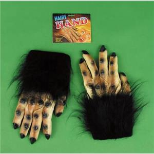 Extra Large Brown and Black Hairy Gorilla Monster Hands