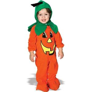 Lil' Pumpkin Baby Child Costume Size Newborn 0-9 months