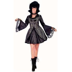 Vampira Adult Costume Gothic Marie Antoinette S/M 2-8