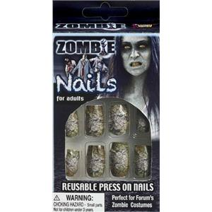 Zombie Fake Finger Press On Nails
