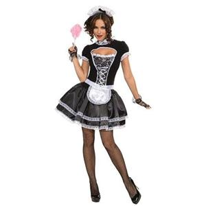 Suzette the French Maid Sexy Adult Costume