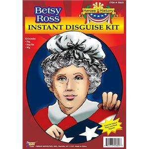 Betsy Ross Instant Disguise Kit Costume Kit School Play