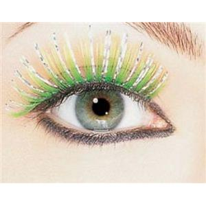 Green Hologram Fake False Eyelashes