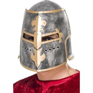 Medieval Crusader Helmet Costume Accessory