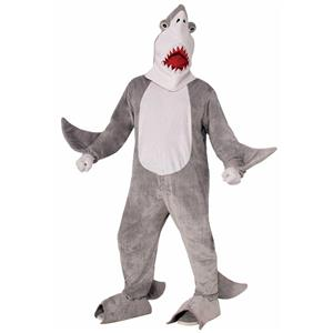 Chomper the Shark Adult Mascot Costume