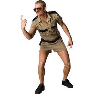 Reno 911 Lt Dangle Adult Cop Police Costume
