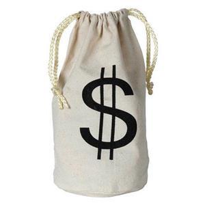 Money Bag Costume Accessory