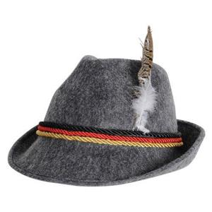 German Alpine Costume Hat with Feather