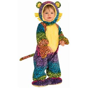 Party Animals Groovy Leopard Infant Costume 12-24 months