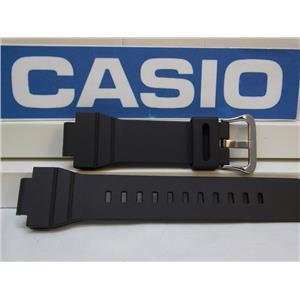 Casio Watch Band G-7800 Black Resin G-Shock Strap Watch Band