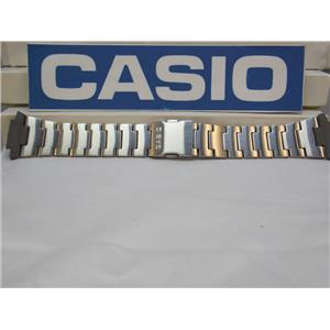 Casio Watch Band DB-E30 D Bracelet Steel / Silver Tone Data Bank Watchband Strap