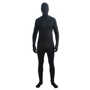 Black Disappearing Man Skin Suit Adult Costume