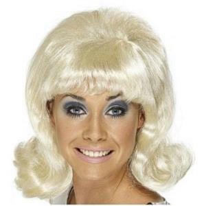 Blonde 60's Lady Flip Wig