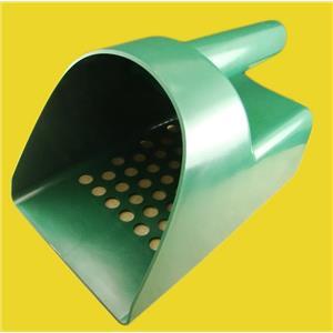 Green Tough Durable Plastic Metal Detector Scoop-Sand-Beach-Treasure Gold Ring