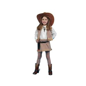 Cowgirl Deluxe Child Costume Size Small 4-6