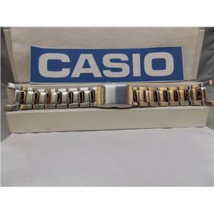 Casio Watch Band GW-2000 D Bracelet All Steel Silver Tone w P/Button Release