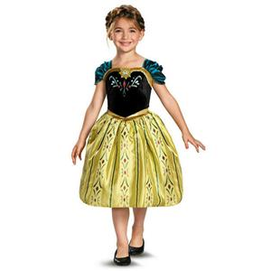 Frozen: Anna Coronation Gown Child Costume Size Medium 7-8