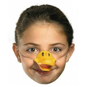 Latex Rubber Duck Nose with Elastic Band