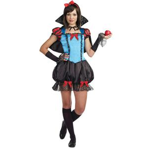 Gothic Fairytale Princess Juniors Snow White Costume Size Teen Small 3-5