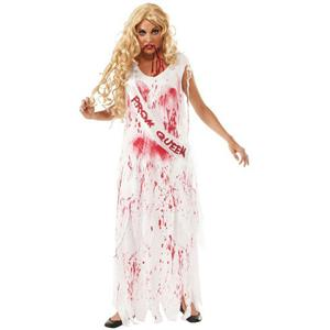 Bloody Prom Queen Adult Costume Size Standard up to 12