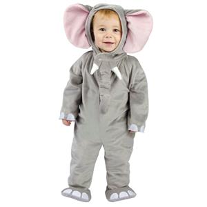 Cuddly Elephant Infant Baby Costume 6-12 Months
