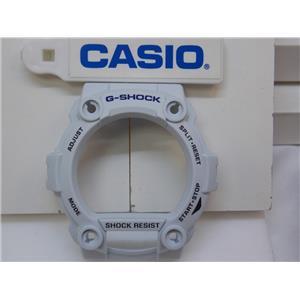 Casio Watch Parts G-7900 A-7 Bezel / Shell. Sky blue w/Black Printing