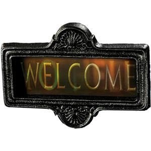 Lenticular 3D Welcome to Hell Sign Halloween Decor Prop