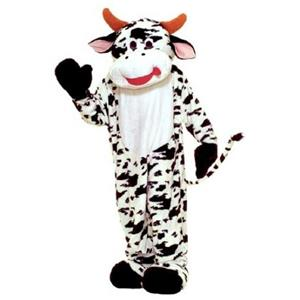 Moo Cow Mascot Quality Adult Costume