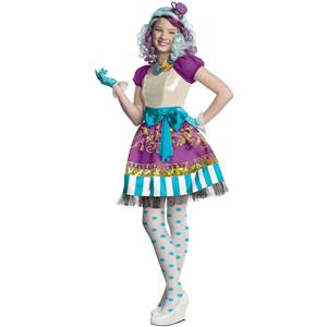 Ever After High: Madeline Hatter Girls Child Costume Size Large 12-14