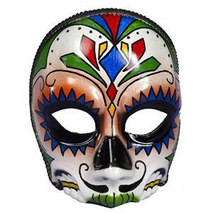 Men's Day Of The Dead Male Multi Colored Costume Mask