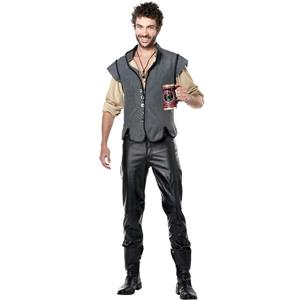Captain John Smith Renaissance Man Adult Costume Size XL 44-46