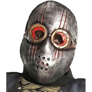 Horrorland Child Dark Ghoul 1/2 Mask Scary Restraint Iron Look