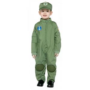 Air Force Toddler Military Pilot Uniform Costume Size 2-4T