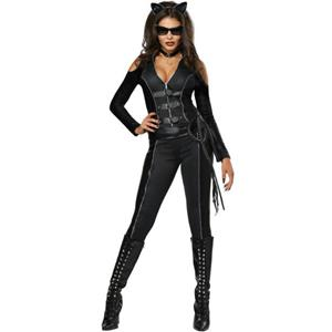 Fatal Feline Sexy Black Cat Adult Costume Size XS 4-6