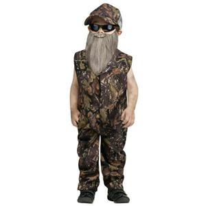 Boy's Duck Hunter Jumpsuit Toddler Costume Size XL 4-6