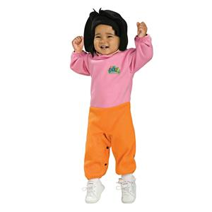 Nick Jr Dora the Explorer Newborn Baby Costume Size 0-6 months