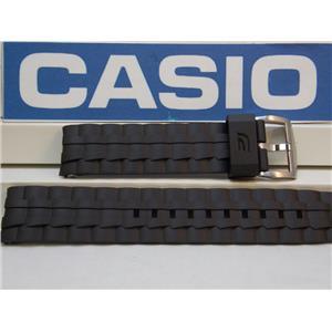 Casio Watch Band EF-550 Black Resin Edifice Strap / Watchband
