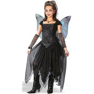 Goth Fairy Princess Child Costume Size Large