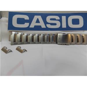 Casio Watch Band EFA-120 D Bracelet Steel Silver Tone  Edifice / Watchband