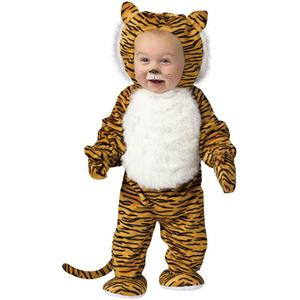 Cuddly Tiger Infant Costume Size 6-12 months