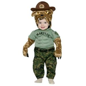 Military Mascot Marine Corps Chesty Infant Costume 12-24 months
