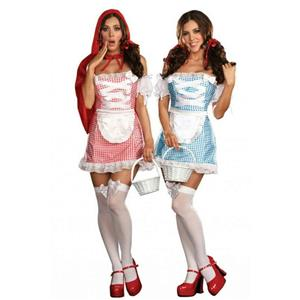 Happily Ever After Sexy Reversible Adult Costume Red Riding Hood Dorothy Large