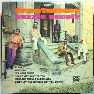 The Temptations Puzzle People Lp Vg Glps 949 Stereo Usa