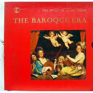 Time Life The Baroque Era 4 Lp Vg Stl 144 Vinyl Record