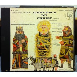 Scherman Berlioz L Enfance Du Christ 2 Lp Vg Sl 199