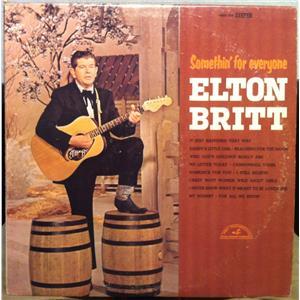 Elton Britt Somethin For Everyone Lp Vg Abcs 566 Vinyl