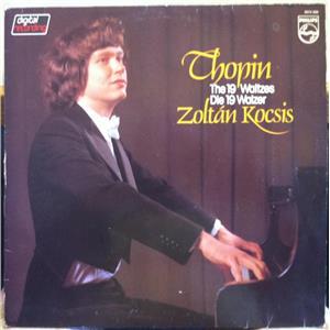 Zoltan Kocsis Chopin 19 Waltzes Lp Vg 6514 280 Philips