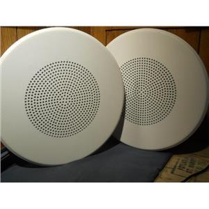 """Quam BB2 Beam Mount Speaker, 8"""" (White) (LOT OF 2)"""