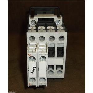 GE 3-Pole, 25Amp Contactor w Aux. Contact Block and 120V Coil / Part # CL00A310T