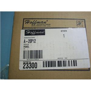 HOFFMAN 12 GAUGE WHITE PANEL  A-20P12